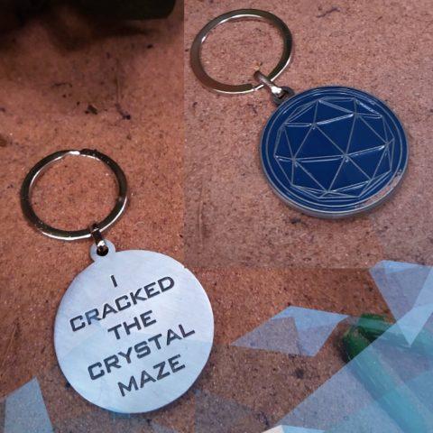 Souvenir Key Chain – Blue