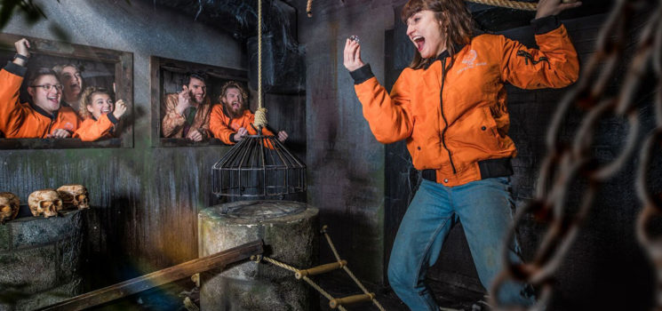 ONCE IN A LIFETIME OPPORTUNITY TO DESIGN AND SEE YOUR OWN GAME COME TO LIFE INSIDE THE CRYSTAL MAZE LIVE EXPERIENCE