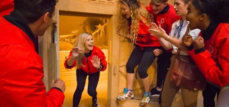 COULD YOU AND YOUR SIBLINGS CRACK THE CRYSTAL MAZE LIVE EXPERIENCE?