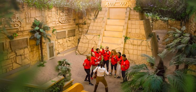 ACCESS SHOWS AT THE CRYSTAL MAZE LIVE EXPERIENCE