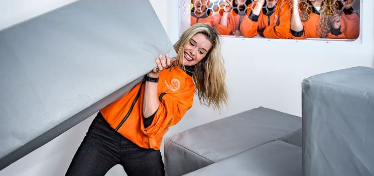 WHAT! YOU GOT A CRYSTAL MAZE VOUCHER? THAT'S THE BEST PRESENT EVER! LETS GET BOOKING…
