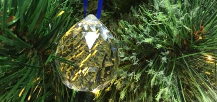 THE CHRISTMAS ZONE – NEW! GET YOUR VERY OWN CRYSTAL BAUBLE!
