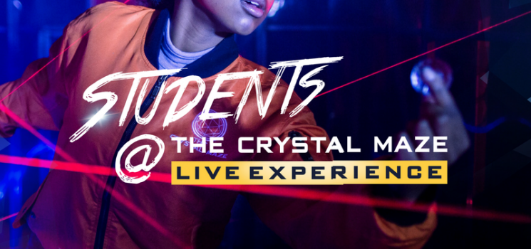 LEEDS UNIVERSITY CRACKING CRYSTAL MAZE COMPETITION