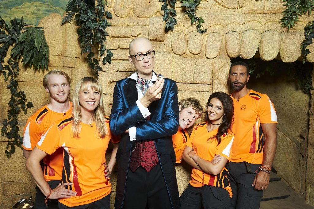 CRYSTAL MAZE ON TELLY ON OCT 16TH