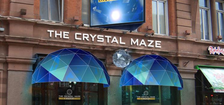 Dom Joly announces An ALL NEW Crystal Maze..