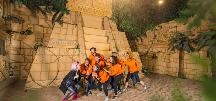 An Easter family treat like no other at The Crystal Maze LIVE Experience Manchester