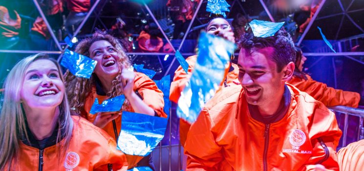 Theres much more than just golden tokens to be won this Blue Monday at The Crystal Maze LIVE Experience Manchester and London…