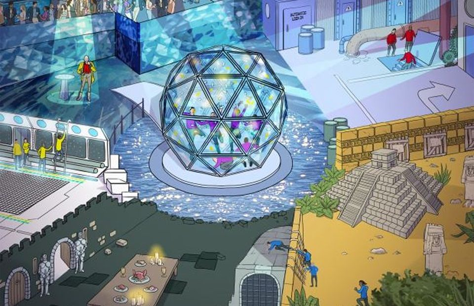 PROGRESS REPORT: THE CRYSTAL MAZE TEAM