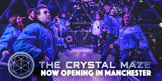 CRYSTAL MAZE MANCHESTER – NEW DATES ON SALE!