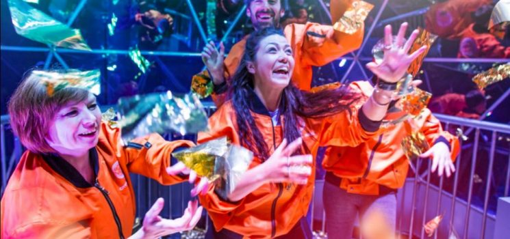 THE CRYSTAL MAZE LIVE EXPERIENCE MANCHESTER IS GIVING AWAY A GOLDEN TOKEN FOR EACH DAY THEY HAVE BEEN OPEN!
