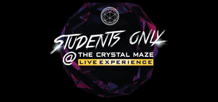 FREE VISIT TO THE CRYSTAL MAZE LIVE EXPERIENCE FOR A-LEVEL STUDENTS