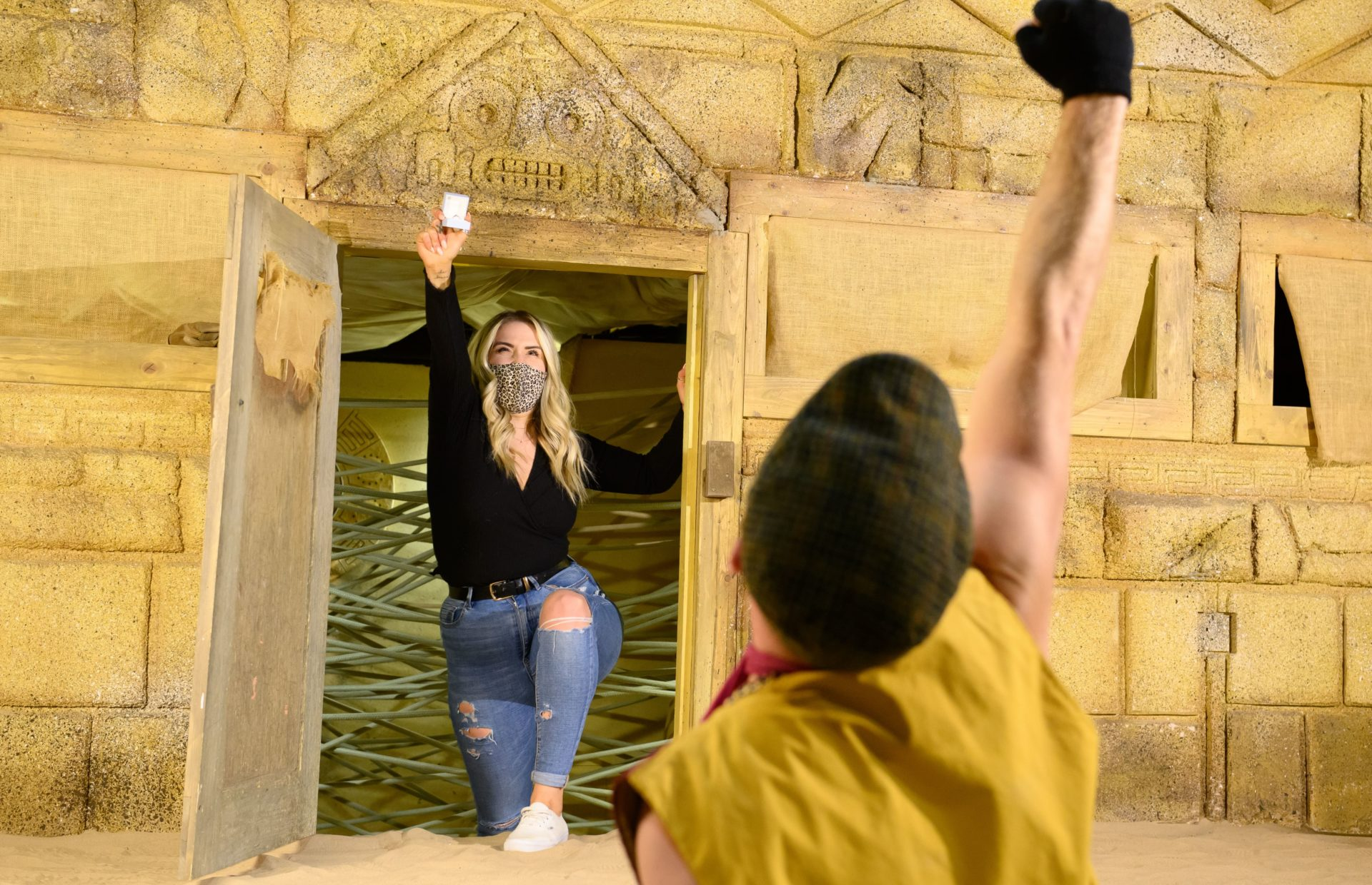 HUNT FOR HIDDEN DIAMONDS AT THE CRYSTAL MAZE LIVE EXPERIENCE THIS MAY